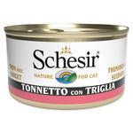 Konzerva SCHESIR tuňák + červená parmice v želé 85g