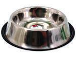 Miska DOG FANTASY nerezová s gumou 33 cm 2,3l