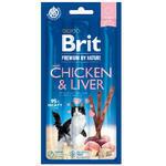 Brit Premium by Nature Cat Sticks with Chicken & Liver (3 ticsks)