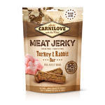 Carnilove Jerky Rabbit & Turkey Bar 100g