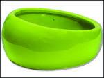 Miska LIVING WORLD ergonomická zelená L 420ml