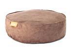 Kulatý pelíšek Aminela Full comfort 60/15cm hnědá