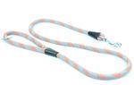 Vodítko Aminela lanové - série G, délka 150cm, síla 14mm, šedá/oranžová