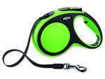 Vodítko FLEXI New Comfort páska zelené  M