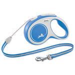 Vodítko FLEXI New Comfort lanko modré S - 8 m 1ks