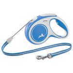 Vodítko FLEXI New Comfort lanko modré M - 5 m 1ks