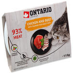 ONTARIO vanička Chicken with Beef 115g