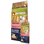 ONTARIO Senior Large Chicken & Potatoes & Herbs 12kg + 2,25kg ZDARMA