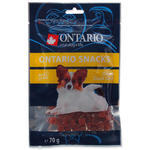Snack ONTARIO duck dice small dog 70g