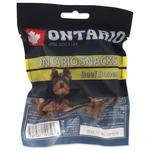 ONTARIO Rawhide Snack Bone 7,5 cm 5ks