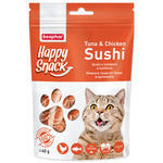 Pochoutka BEAPHAR Happy Snack Cat sushi s tuňákem a kuřetem 40g
