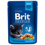 BRIT Premium Kitten Chicken Chunks kapsička 100g