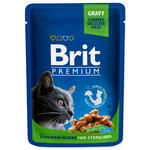 BRIT Premium Cat Chicken Slices for Sterilised kapsička 100g
