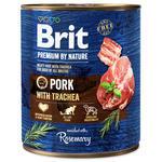 BRIT Premium by Nature Pork with Trachea 800g