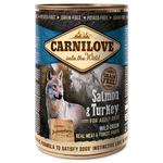 Konzerva CARNILOVE Wild Meat Salmon & Turkey 400g