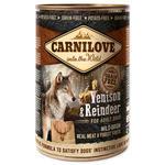 Konzerva CARNILOVE Wild Meat Venison & Reindeer 400g
