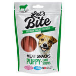 BRIT Let´s Bite Meat Snacks. Puppy Lamb Stripes 80g