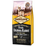 CARNILOVE Fresh Chicken & Rabbit Muscles, Bones & Joints for Adult dogs