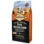 CARNILOVE Fresh Ostrich & Lamb Excellent Digestion for Small Breed Dogs