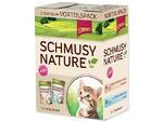 Kapsičky SCHMUSY Nature Kitten multipack 1200g