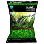 Písek AQUA EXCELLENT 3-6 mm svítivě zelený 3kg