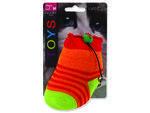Hračka MAGIC CAT ponožka neonová s rolničkou a catnipem 11 cm 1ks