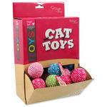 Hračky MAGIC CAT míček bavlněný 4 cm 24ks