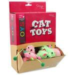 Hračky MAGIC CAT myška plyšová s catnipem 7 cm 1ks