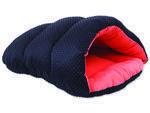 Vak spací DOG FANTASY černo-oranžový  55cm