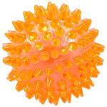 Hračka DOG FANTASY míček pískací oranžový 8 cm 1ks