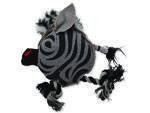 Hračka DOG FANTASY textilní zebra 1ks