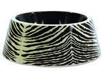 Miska DOG FANTASY keramická zebra  5 cm