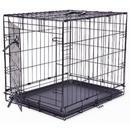 Klec DOG FANTASY skládací černá - 1 dveře S