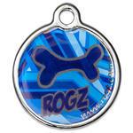 Známka ROGZ Metal Navy Zen kovová  L