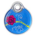 Známka ROGZ ID Tagz Denim Rose L 1ks