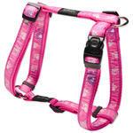Postroj ROGZ H Fancy Dress Pink Paw  L