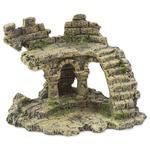 Dekorace Zřícenina hradu  13 cm