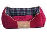 Pelíšek SCRUFFS Highland Box Bed červený S