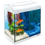 Akvárium set TETRA AquaArt LED Goldfish bílé 35 x 25 x 35 cm !!! POUZE OSOBNÍ ODBĚR !!! 30l