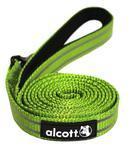Alcott reflexní vodítko pro psy zelené, velikost