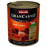 Konzerva ANIMONDA Gran Carno hovězí+kuře 800g