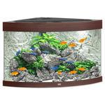 Akvárium set JUWEL Trigon LED 190 tmavě hnědé !!!POUZE OSOBNÍ ODBĚR!!! 190l