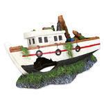 Dekorace TRIXIE rybářská loď 15 cm 1ks