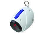 Hračka TRIXIE Light Laser bílo-modrá 11 cm 1ks