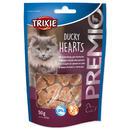 Srdiíčka TRIXIE Cat Premio s kachními prsíčky a treskou 50g