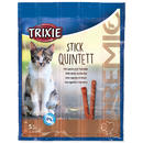 Tyčinky TRIXIE Cat Premio Quadro Anti-Hairball drůbež a játra 20g