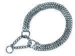 Obojek TRIXIE řetěz trojřadý polostahovací 60 cm 1ks