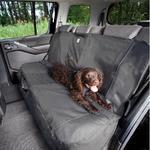 Kurgo Ochranný přehoz na zadní sedadla Wander Bench Seat Cover - charcoal