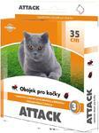 Attack obojek antiparazitární  kočka 35cm