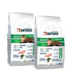 2x Granule ONTARIO Adult Castrate 2kg